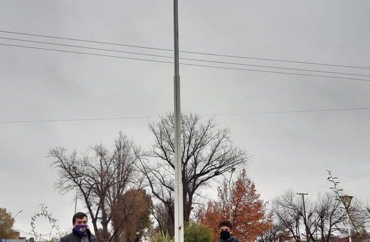 Photo of En el Día Provincial e Internacional del Orgullo LGBTIQ, izaron la bandera en Allen