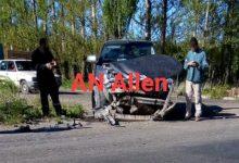 Photo of Impresionante choque y vuelco en Guerrico dejó dos heridos