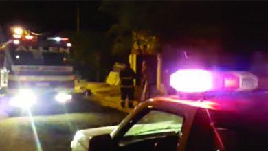 Photo of El Fuego destruyó parte de una vivienda en Allen