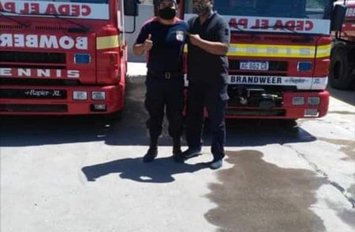 Photo of Bomberos de Allen y de la región viajaron para combatir el incendio forestal