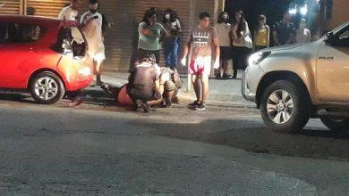 Photo of Motociclista fue hospitalizado tras choque múltiple